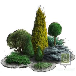 Композиция 5. Парковый пейзаж